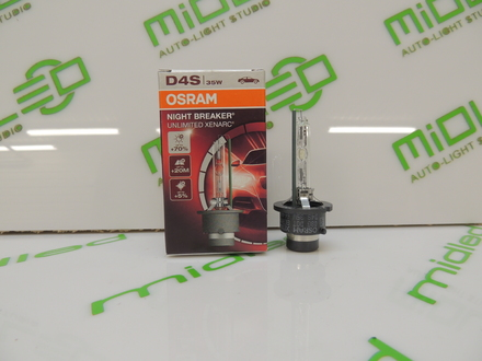 Лампа ксеноновая OSRAM D4S 42V 35W P32d-5 66440XNB Xenarc Night Breaker Unlimited