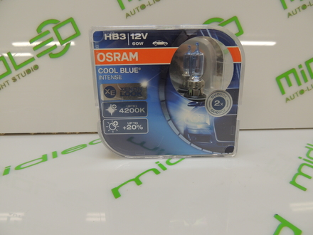 OSRAM HB3 12V 60W COOL BLUE INTENSE 2шт 9005CBI-HCB